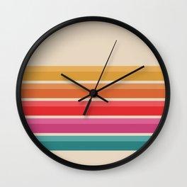 Retro Horizon #724 Wall Clock
