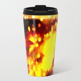 Flammes ensoleillées Travel Mug