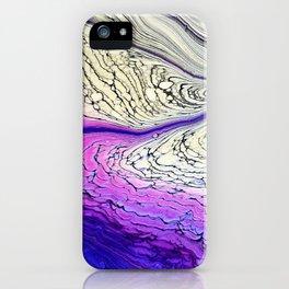 Arctic flow iPhone Case