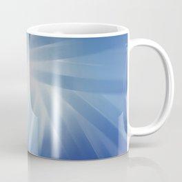 Blue Streaks of Light Coffee Mug