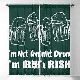 I'm Irish! Blackout Curtain