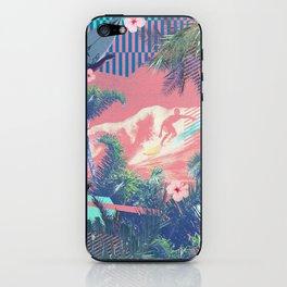 Surfing in Hawaii  iPhone Skin