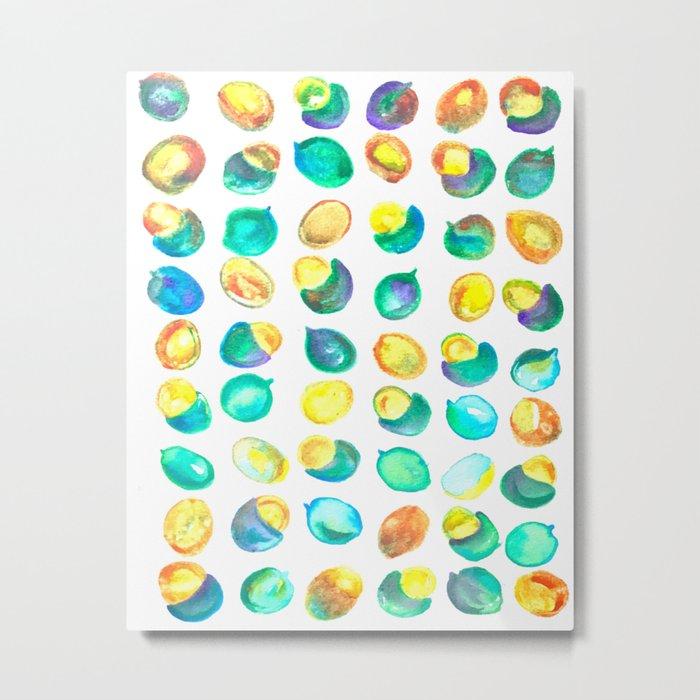 Guinep Sweet Tropical Kiwi Fruit Metal Print