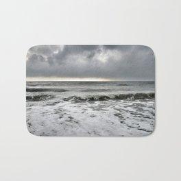 Stormy Sea Bath Mat