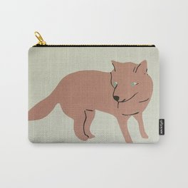 This Fox is Pink Carry-All Pouch