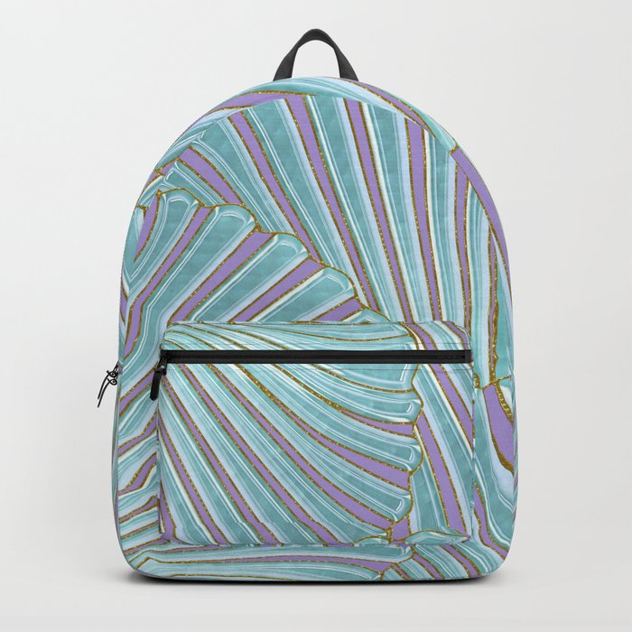 INTO THE DEEP (abstract pattern) Backpack