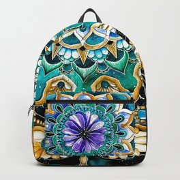 Watercolor Mandala Backpack
