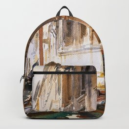 "John Singer Sargent ""Gondoliers' Siesta"" Backpack"