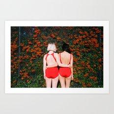 Art Print by Ophelie Rondeau - #ophelieandthegirls | September 2015 Art Print