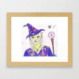 Wizard Avergo Framed Art Print