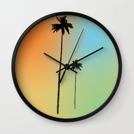 Dos Palmas Wall Clock