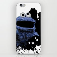 Monster Madness: Cookie Monster iPhone & iPod Skin
