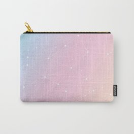 Rainbow Watercolor Astronomy Carry-All Pouch