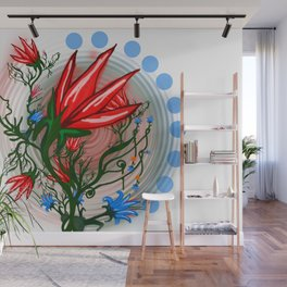 Red Dwarf Plant Wall Mural