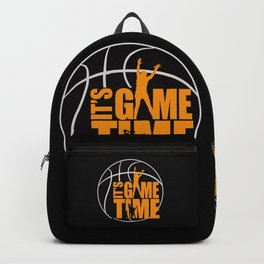It's Game Time - Yellow Backpack