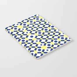 Moroccan Inspired Tile Pattern Notebook