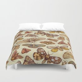 Moth Pattern Duvet Cover