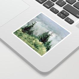 Pine Trees 2 Sticker
