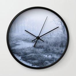 Winter Field Wall Clock