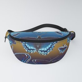 White Admiral Butterflies Fanny Pack