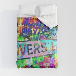 Psychedelic Lovers Lane  Comforters