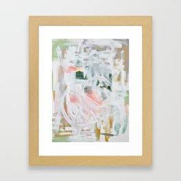 Emerging Abstact Framed Art Print
