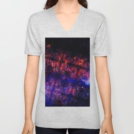 Space Triangles Unisex V-Neck