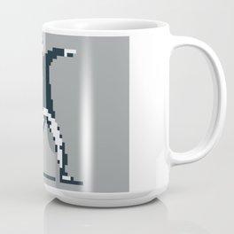Flower Thrower Graffiti Pixel Coffee Mug