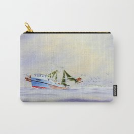Shrimp Boat On The Gulf Carry-All Pouch