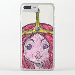 Princess Bubblegum Clear iPhone Case