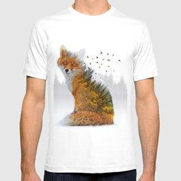 Wild I Shall Stay | Fox T-shirt