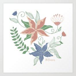 Caladenia Art Print