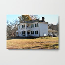Cherokee Nation - The Historic George M. Murrell Home, No. 5 of 5 Metal Print