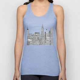 New York vintage  Unisex Tank Top