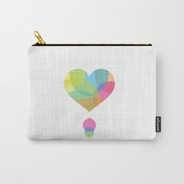 COLORS OF A HEART Carry-All Pouch