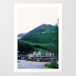 Girdwood, AK Art Print