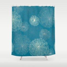Spider Chrysanthemums Shower Curtain