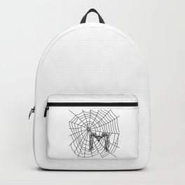 web with spider Backpack