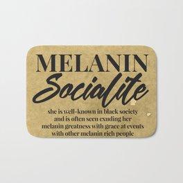 MELANIN SOCIALITE Bath Mat