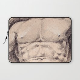 Seated Hercules (detail) Laptop Sleeve