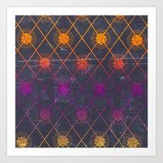 Mandala Repeat Art Print