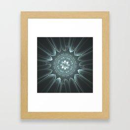Blossom Within in Platinum Framed Art Print