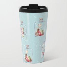 Christmas Pattern Mint Travel Mug