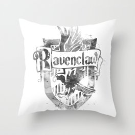 Ravenclaw Crest Throw Pillow