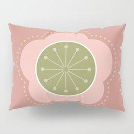 Japanese-inspired Pink Plum Blossom Pillow Sham