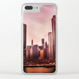 River In The Loop Clear iPhone Case