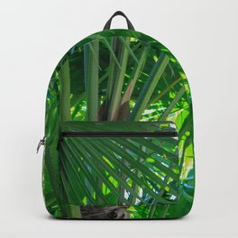 Sunny Tropical Palms 1 Backpack