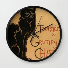 Le Grumpy Cat Wall Clock