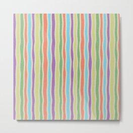 LYWALH Stripes Metal Print