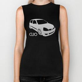 Renault Clio - silver - Biker Tank